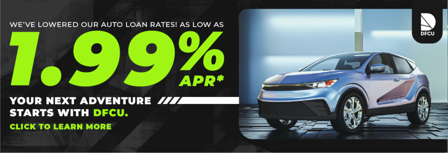 Auto Loans as low as 1.99% APR*
