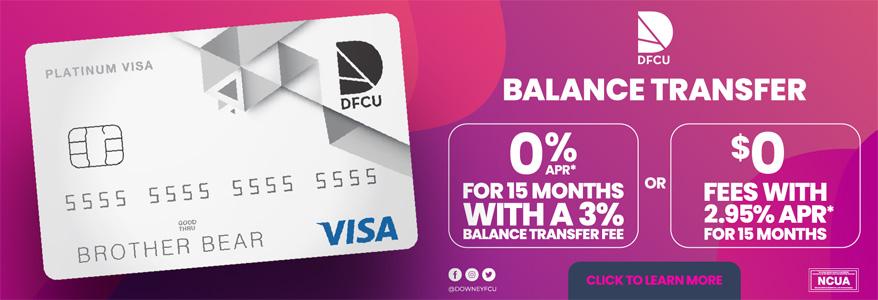 Balance Transfer Special