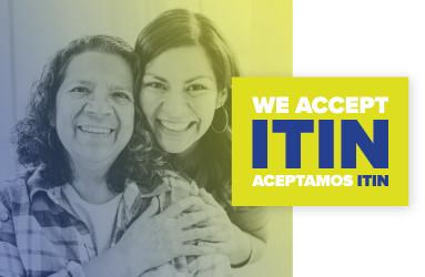 Aceptamos ITIN, we accept ITIN